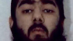 El terrorista del Puente de Londres Usman Khan.