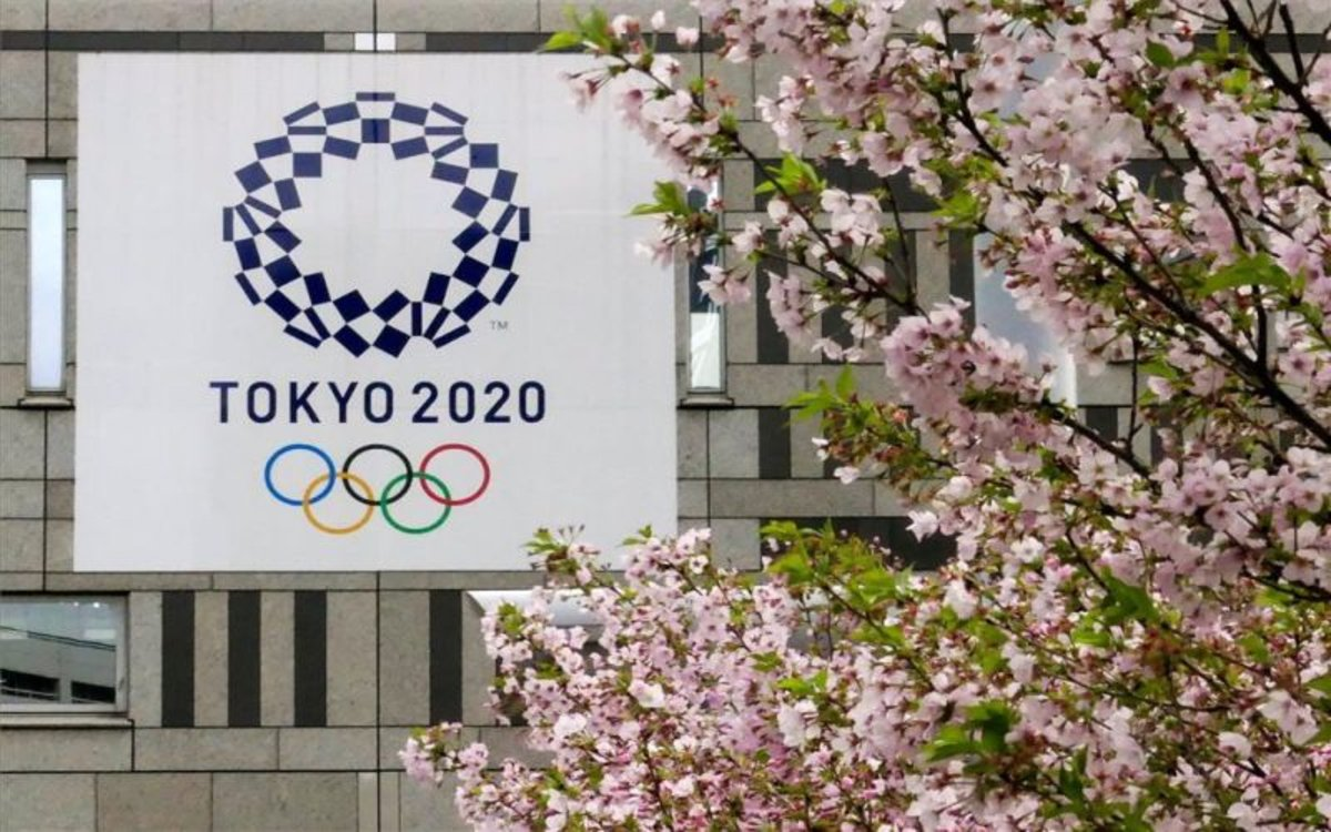 Cartel de losJuegos Olímpicos de Tokio 2020.