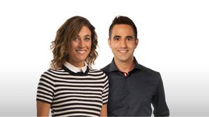 Helena Garcia Melero y Francesc Sòria presentarán en TV-3 el magacín matinal 'Tot es mou'.