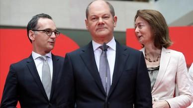 Scholz y Maas, hombres fuertes del SPD en el nuevo Gobierno de Alemania