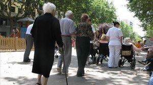 Les pensions pujaran el 2019 l'1,6%, i el 3% les mínimes i no contributives