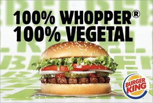La nueva hamburguesa vegetariana Rebel Whopper de Burguer King.