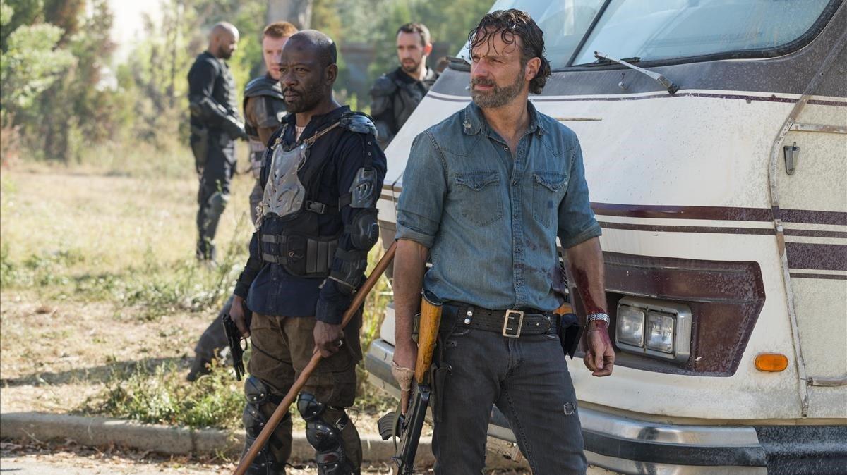 Andrew Lincoln era uno de los personajes estrella de la serie 'The Walking Dead'