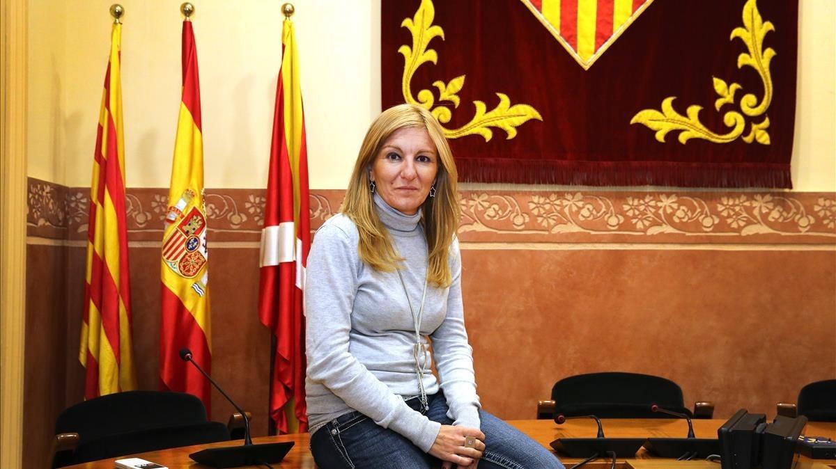 """Ana María Martínez: """"S'ha d'aconseguir una reforma de la Constitució que reconegui Catalunya com a nació"""""""