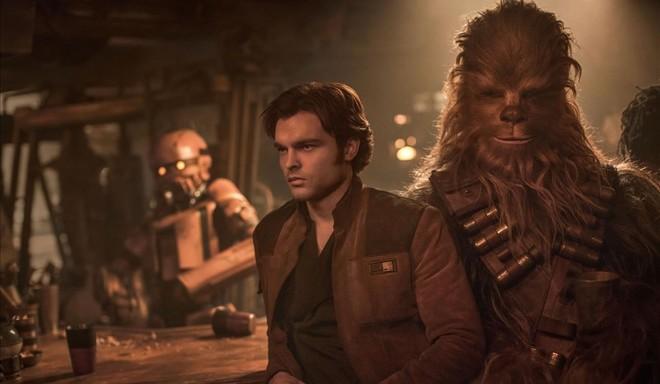 'Han Solo: una historia de Star Wars' (2018).