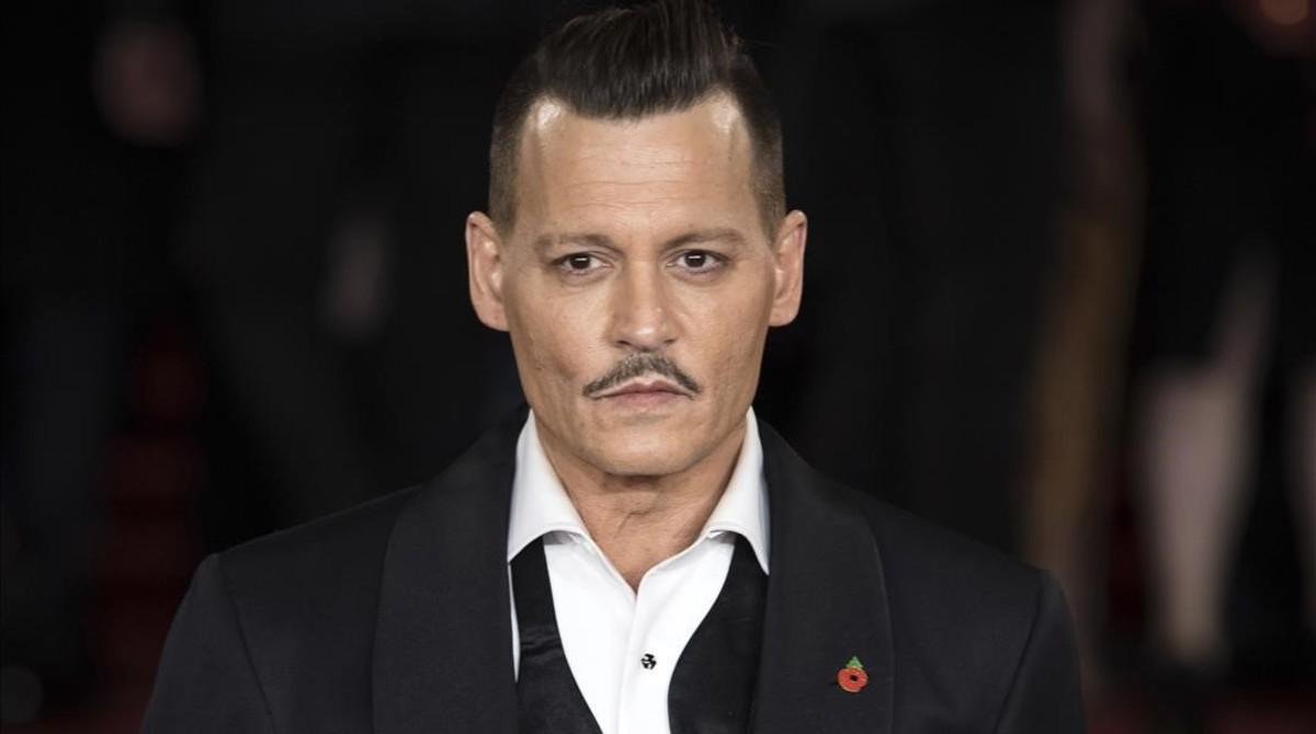 Johnny Depp, demandat per agredir un treballador en un rodatge