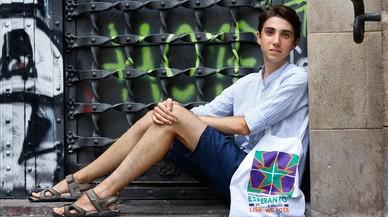 """Jordi Calafí: """"El esperanto forja una visión sabia del mundo"""""""