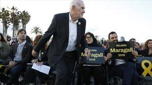 Maragall es presenta com l'únic que pot vèncer Colau