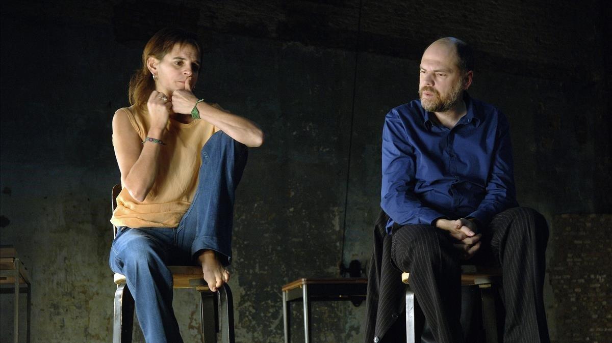 Un patètic trio amorós i un homenatge al teatre al Temporada Alta