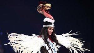 MaríaElena Antelo Molina, Miss Bolivia 2018.
