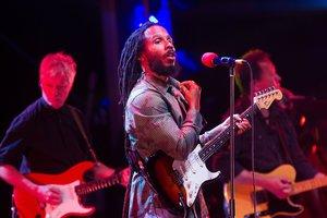 Ziggy Marley, ganador de ocho premios Grammy.