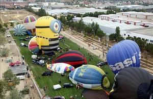 European Balloon Festival, en Igualada (Anoia)