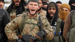 zentauroepp41709899 turkey backed free syrian army fighters are seen at a traini180126180110
