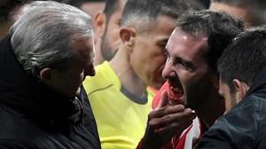 rozas41910746 atletico madrid s uruguayan defender diego godin r shows h180205023101