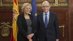 tecnicomadrid36374871 gra282 madrid 21 11 2016 la alcaldesa de madrid manuela