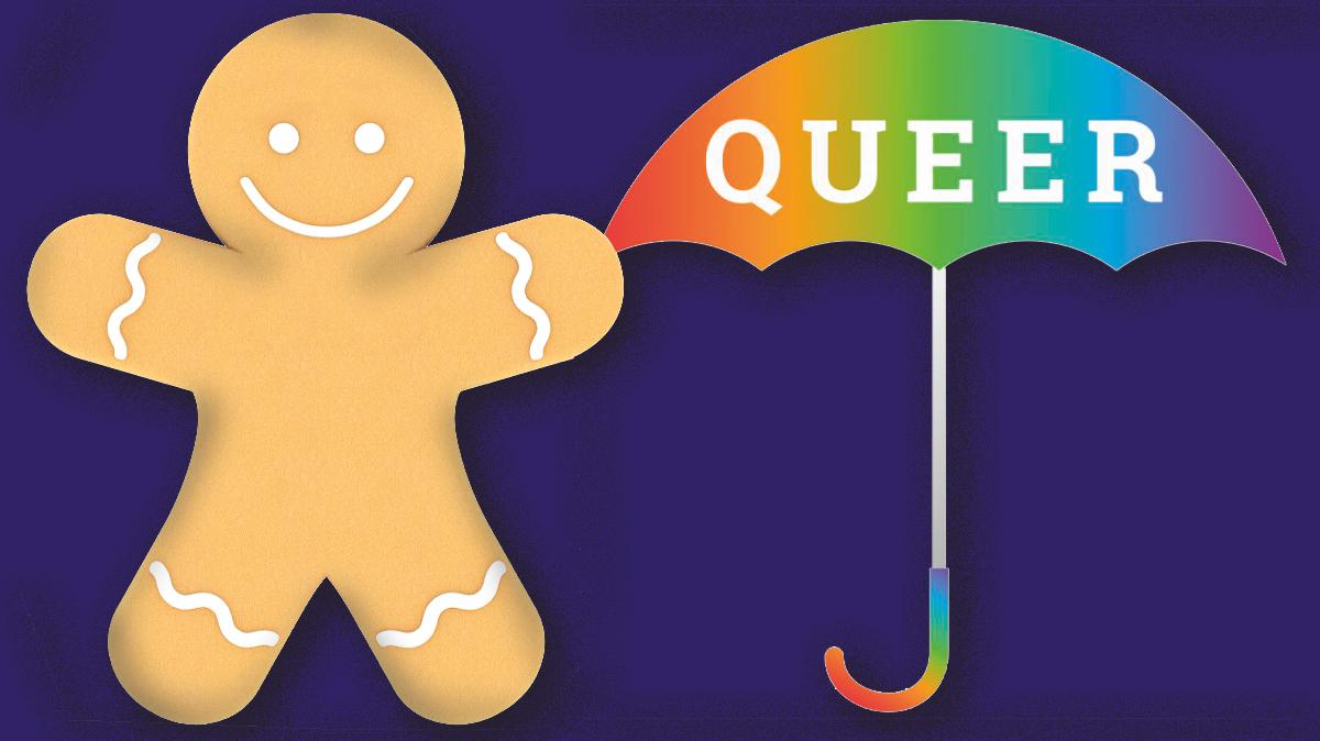 Així és la galeta de gingebre que il·lustra què és la identitat de gènere