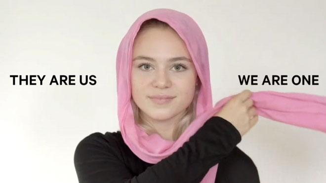 Un vídeo promou l'ús del hijab en solidaritat amb les musulmanes de Nova Zelanda