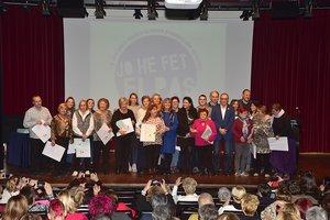 Acto de presentación del nuevo Protocolocontra agresiones sexistas en fiestas de LHospitalet