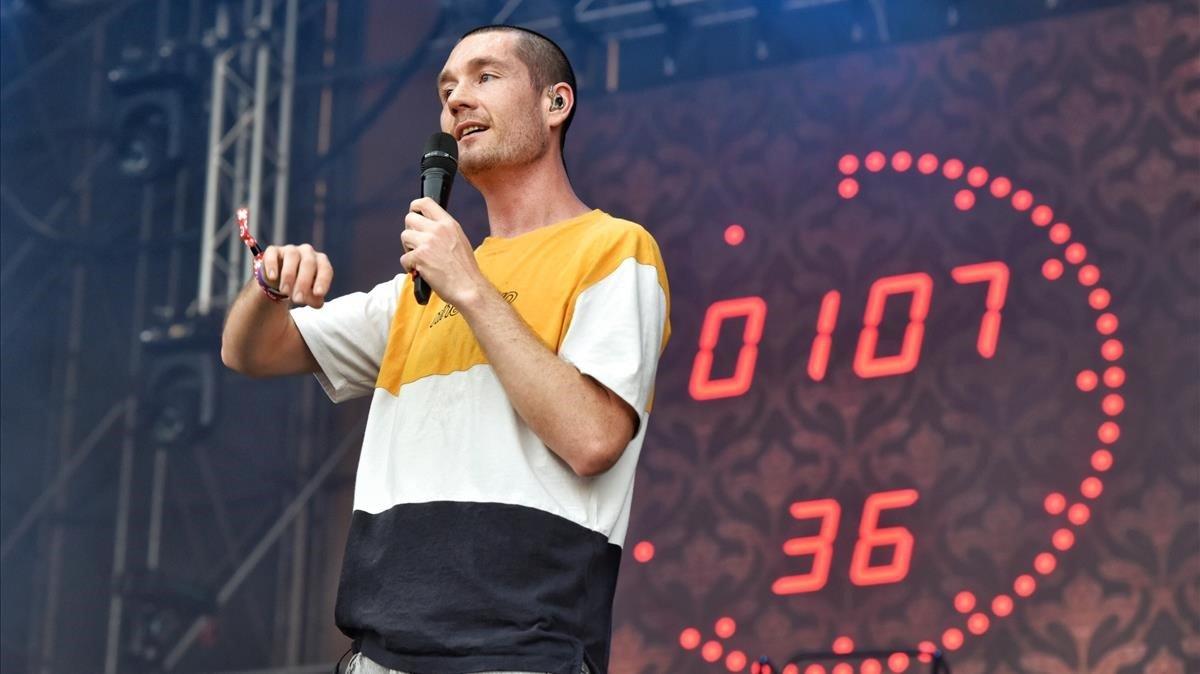 Actuación de Bastille en el festival Cruïlla