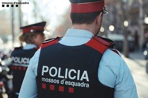 29/08/2019 Agents de patrulla dels Mossos d'Esquadra.