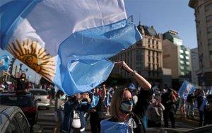 Protestas sociales en Argentina.