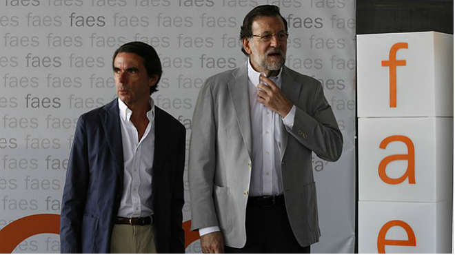Aznar indica que la victoria de Ciudadanos ha sido clara en Catalunya y le pide al PP que reflexione sobre ello.