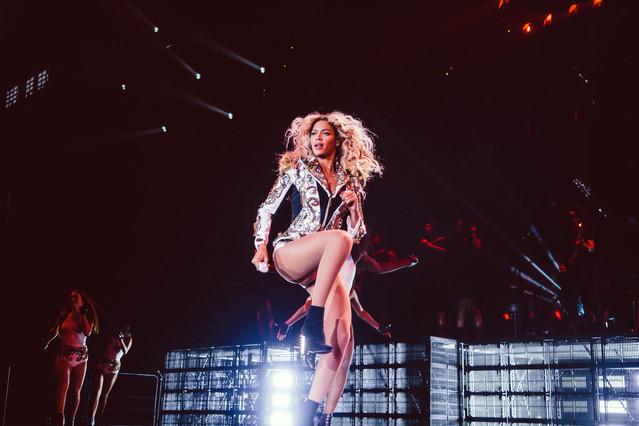 Beyoncé, en una actuación en Boston.
