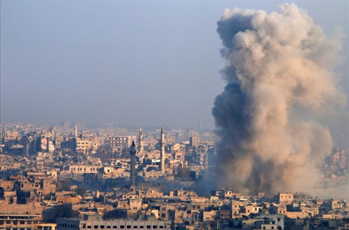 """Ban Ki-moon alerta de las """"atrocidades"""" cometidas contra civiles en Alepo"""
