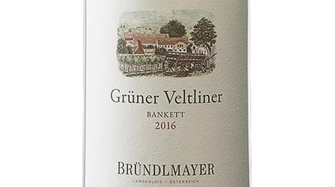 Grüner Veltliner Bankett 2016, de la bodega Bründlmayer.