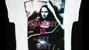 Anarchy is art isnt. Diseño de una Mona Lisa diferente por John Dove y Molly White.