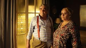 Carmina Barrios y Paco Casaus, en una escena de la película Carmina o revienta.