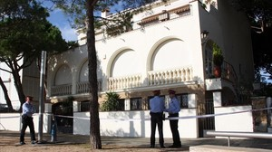 Chalet de Platja dAro en el queJordi Comas y su esposa fueron asaltados.