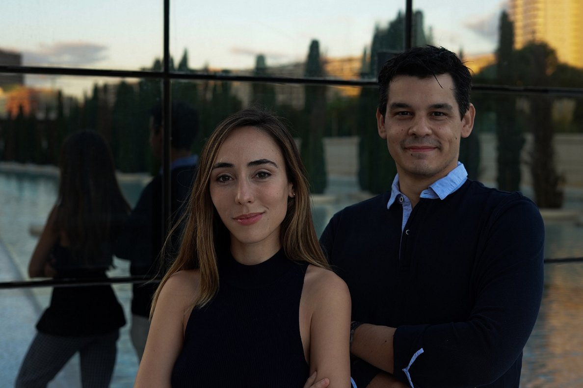 Clara Fernández y Juan Cartagena, fundadores de Rosita
