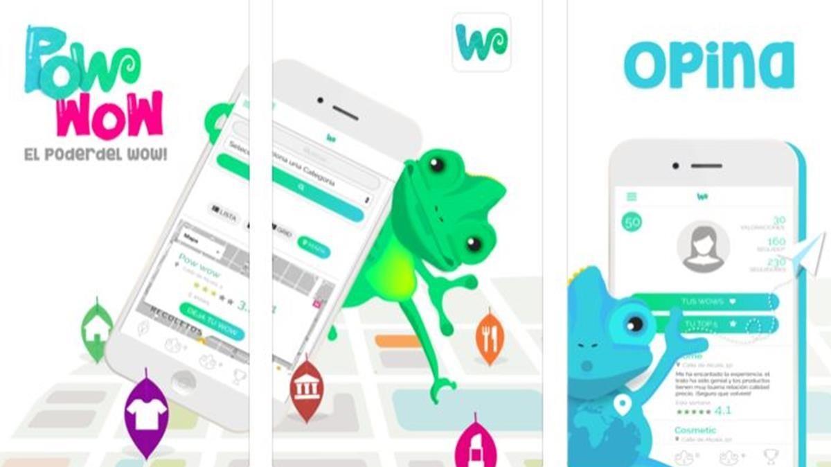 Una imagen de la aplicación Pow Wow.