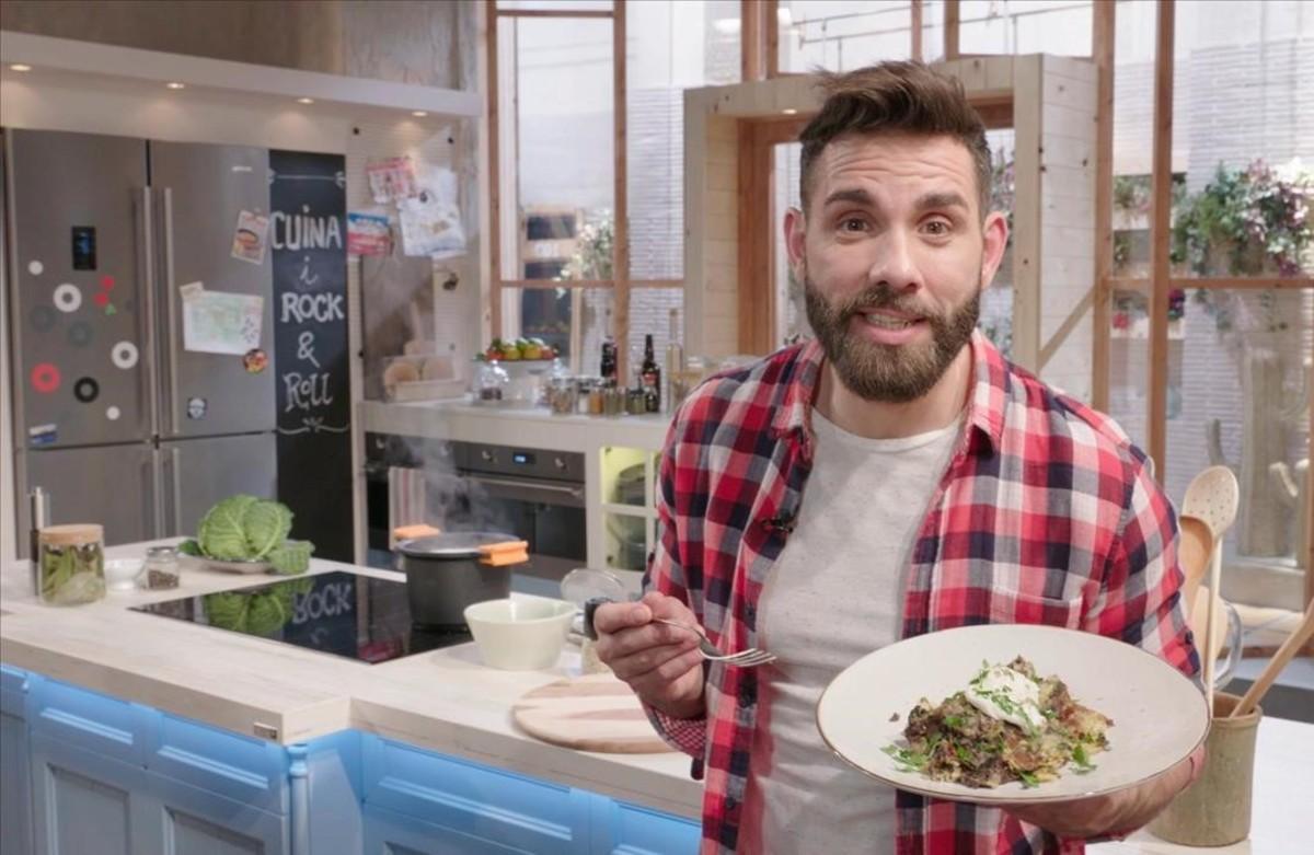 El cocinero de TV3 Marc Ribas.