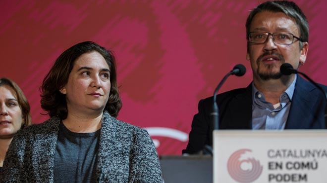 El relevo de Domènech genera nuevas tensiones en los 'comuns'