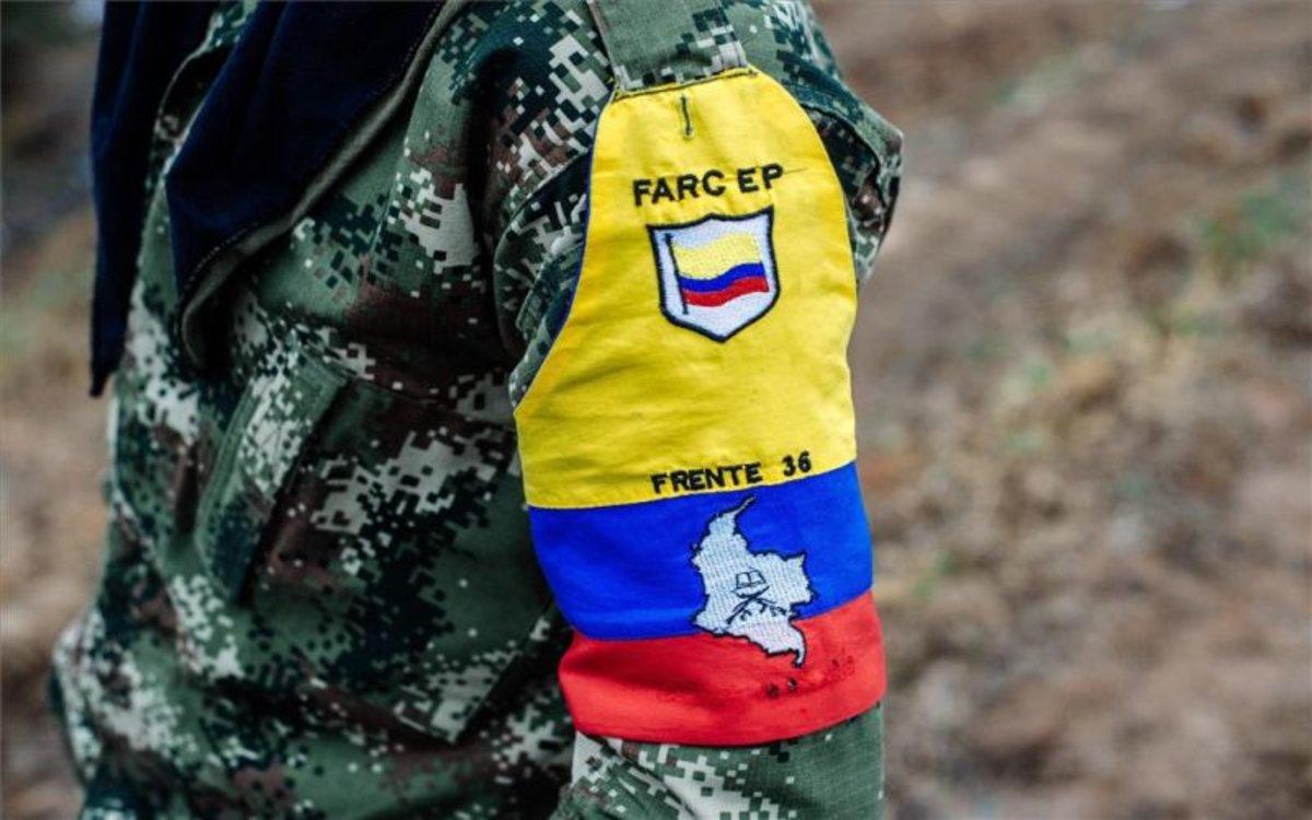 Un grupo disidente de las FARC en Colombia.