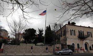 Consulado de EEUU en Jerusalén.