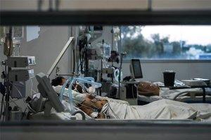 Hospitalizados por COVID-19.