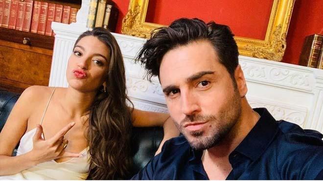 David Bustamante y Yana Olina confirman su relación.