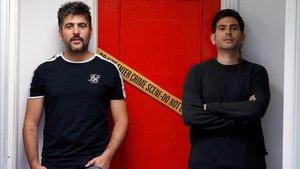 David Muñoz y José Muñoz, el pasado miércoles en Madrid