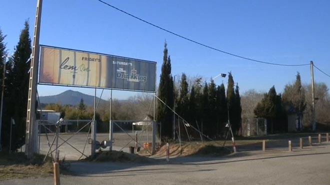 Detenido un menor por violar a una joven de 16 años en Sant Cugat. Imágenes del lugar donde supuestamente sucedieron los hechos.