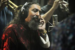 Diego el Cigala durante una de las grabaciones de Indestructible.