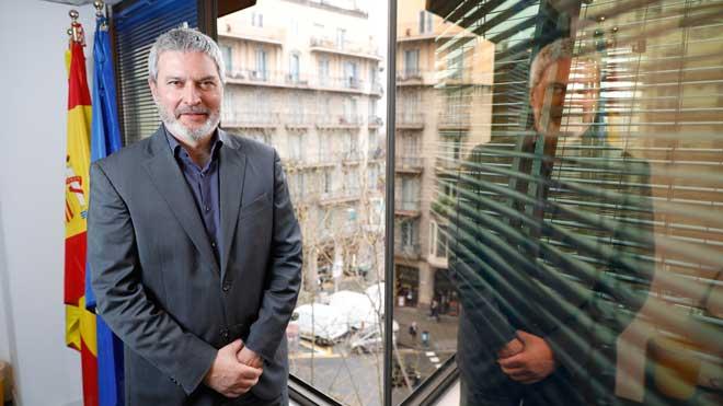 Entrevista con el presidente de Societat Civil Catalana, Josep Ramon Bosch.