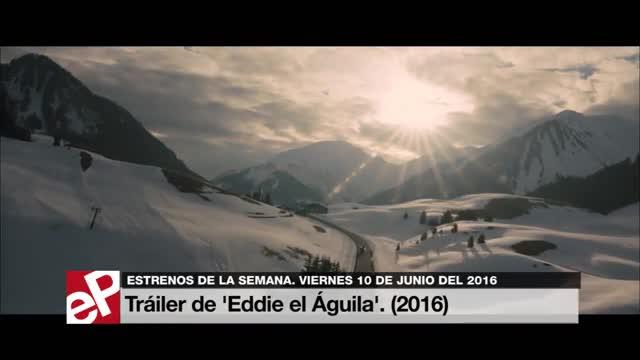 Tráiler de 'Eddie el Águila'. (2016)