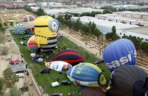 El European Ballon Festival de Igualada, del 8 al 12 de julio