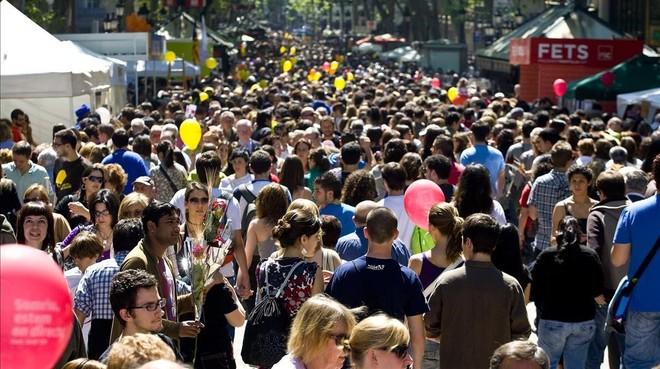 ¿On és en Jordi?: juga a trobar un català passejant pel carrer