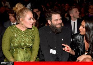 FILE - APRIL 19 Singer Adele and her husband Simon Konecki have ended their relationship after more than seven years together LOS ANGELES CA - FEBRUARY 12 Singer-songwriter Adele L and Simon Konecki during The 59th GRAMMY Awards at STAPLES Center on February 12 2017 in Los Angeles California Photo by Lester Cohen Getty Images for NARAS