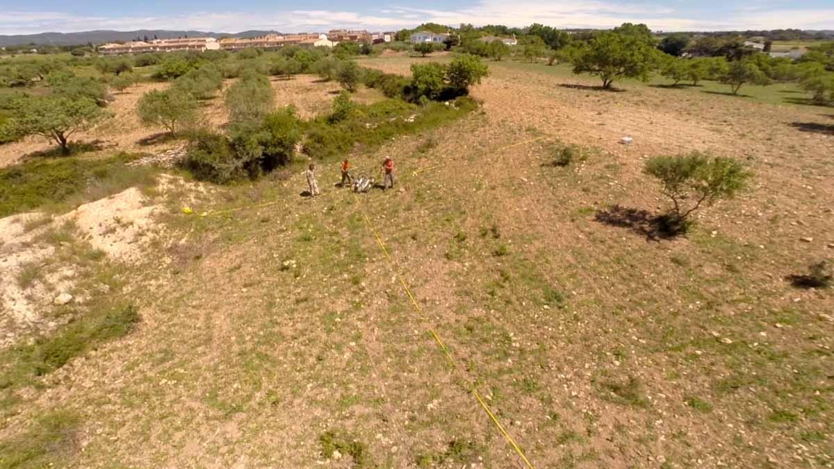 Un georadar de la UB descubre una gran ciudad íbera en Banyeres del Penedès