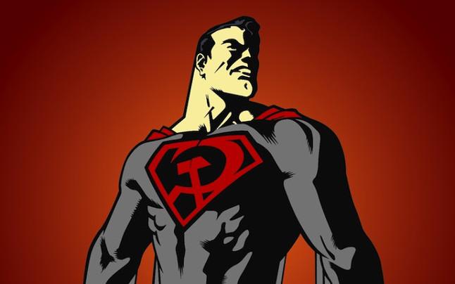 El hijo rojo, el Supermán soviético.